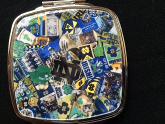 Notre Dame Compact Mirror