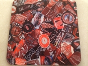Detroit Red Wings Coaster-Browning