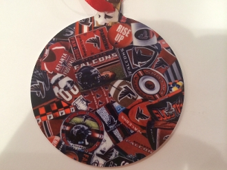 Atlanta Falcons Ornament