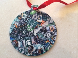 Michigan State Spartans Ornament