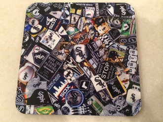 Chicago White Sox Coaster 4 piece set
