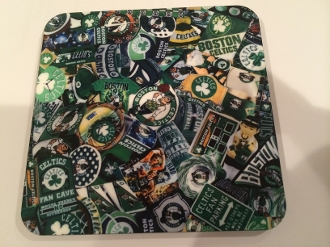 Boston Celtics Coasters 4 Piece Set