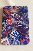 Chicago Cubs World Series Champs Luggage Tag