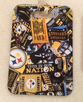 Pittsburgh Steelers Luggage Tag