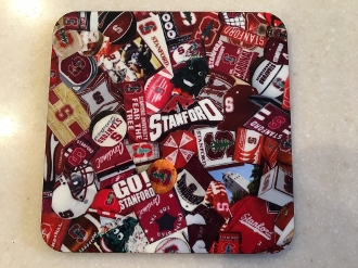 Stanford University Coasters 4 piece set