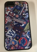 Chicago Cubs World Series Champs iPhone Case