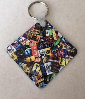 Broadway Key Chain