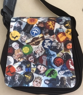 Game Of Thrones Zipper Purse