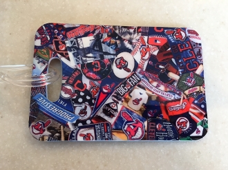 Cleveland Indians Luggage Tag