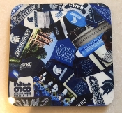 Case Western Reserve Coaster 4 Piece Set