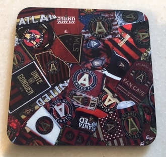 Atlanta United Coaster 4 Piece Set
