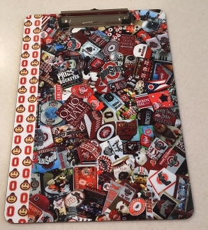 Ohio State Buckeye Clipboard