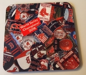 Boston Red Sox World Series Champs Coasters 4 piece set