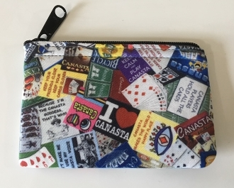 Canasta Zipper Wallet