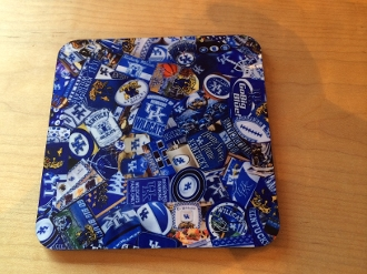Kentucky Wildcats Coaster