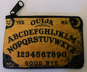 Ouija Board Zipper Wallet