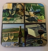 Wine Coaster 4 piece set